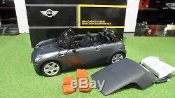 MINI COOPER BMW Cabriolet Convertible 1/18 KYOSHO 80430309087 voiture miniature