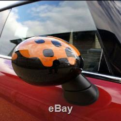 Side Wing Mirror Cover Caps Aile Miroir Couvre pour BMW Mini Cooper ONE S RM09